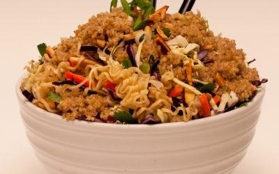 Crunchy Asian Quinoa Salad