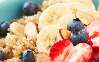 Quinoa Berry Breakfast Bowl