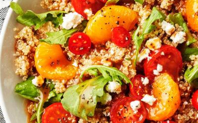 Sweet Mandarin Quinoa Salad